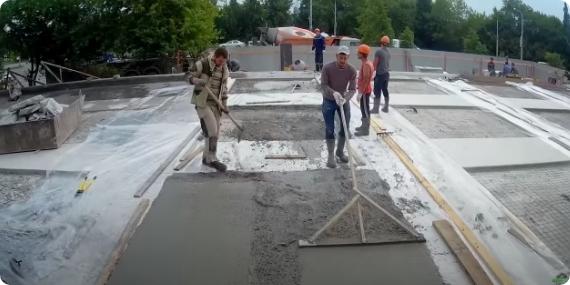 Декоративный бетон пенза стяжка из керамзитобетона цена работы